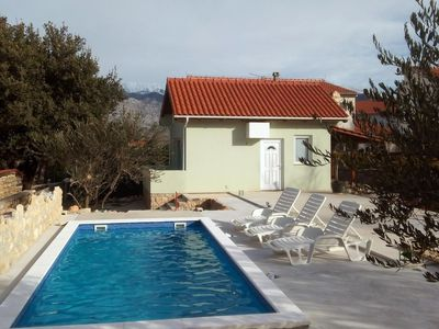Photo for Seaside house with a swimming pool Vinjerac (Zadar) - 9689