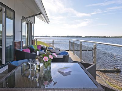 Photo for XXL Penthouse 12 persons directly on the Veerse sea with sauna