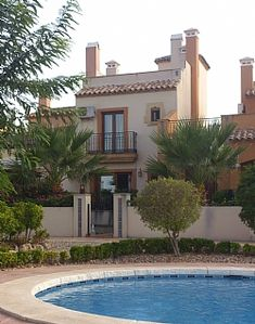 Photo for Luxury 2 Bed Townhouse On La Finca Golf Resort With Garden And Pool - Free wifi