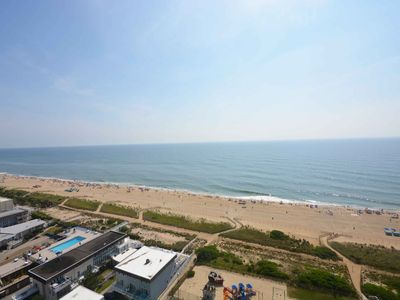 Photo for Cozy, quaint 2 bedroom oceanfront condo with free WiFi and an amazing ocean view with incredible amenities including two pools and a game room!