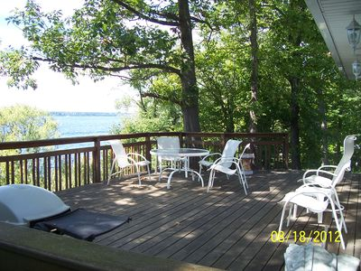 Photo for Seneca Lake cottage near Geneva, New York