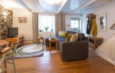 Photo for Traditional Pet & Family friendly Fishermans Cottage sleeps 4. Downalong,Central St Ives with wifi a