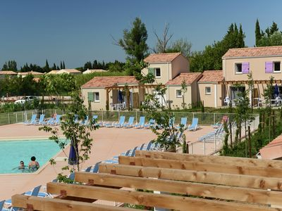 Photo for Modern apartment with swimming pool is situated in the heart of the Alpilles
