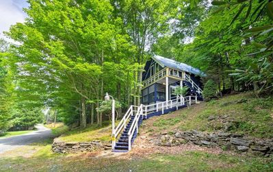 Photo for Spacious Chalet Five Minutes from Beech Mtn Slopes!