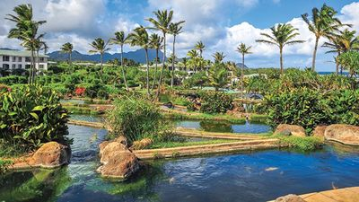 Photo for Point at Poipu, oceanfront resort, beautiful lagoon style pool!