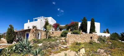 Photo for Aegean Villa With Grand Sea Vistas