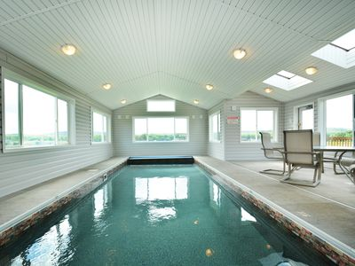 Private indoor pool  Private Indoor Pool in Exclusive WaterFront... - VRBO