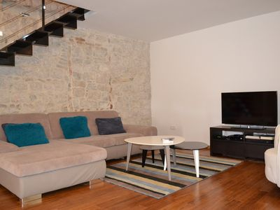 Photo for 500-year-old renovated stone house in Kastela between Trogir and Split