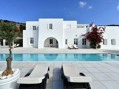 Photo for Spacious Luxury Villa with Private Pool amazing panoramic views of the valleys and the sea