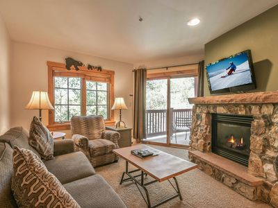 Photo for Updated River Run Condo. Overlooks the Pool! Walk to Ice Rink & Slopes