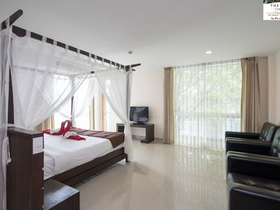Photo for D 24/74 · ♥Stylish Condominium King Bed♥Kitchen♥Pool♥