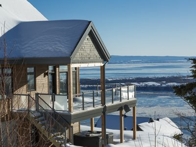 Photo for Prestigious Vacation Home Offering Some Of The Most Stunning Views Of Charlevoix