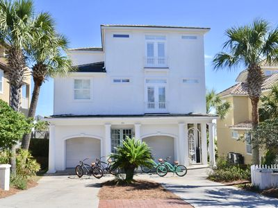 Photo for Gorgeous 4 Bedroom Home South of 30A. Short stroll to beach and pool. Gulf Views