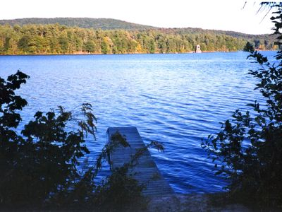 Photo for Cottage on East Twin Lakes,  Internet Access,  A/C.