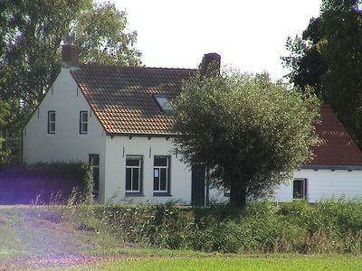 Photo for Renovated Dike house located in Zeeuws
