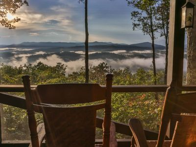 Photo for Sky High View is tucked away on top of the world with unobstructed views of the Appalachian Mountain