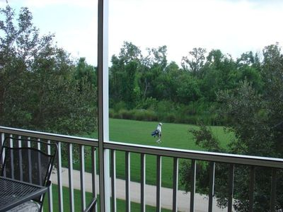 Private, golf and preserve setting