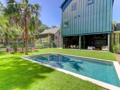 Most Unique High-End Luxury Rental w/Private Pool On Folly Beach!