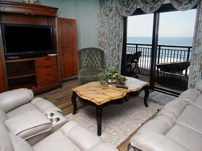 Photo for Southwind On The Ocean 1003 Spacious 3 Bedroom Oceanfront Condo With Updated Kitchen