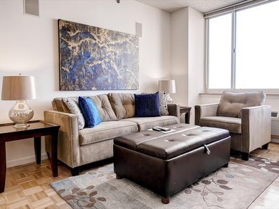 Photo for Beautiful 1BR | Gym | Jersey City Waterfront by GLS