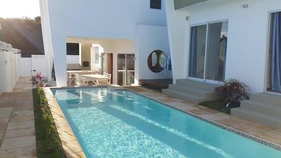 Photo for BEAUTIFUL CONTEMPORARY HOUSE - SWIMMING POOL - NEAR CENTER AND BEACHES