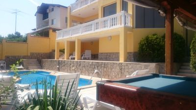 Photo for Large  villa with private pool and fantastic sea views