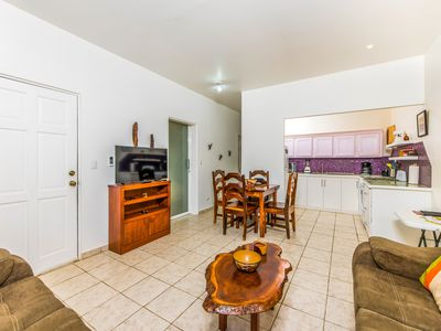 Photo for Lovely condo with shared pool near shops, restaurants, & beach!