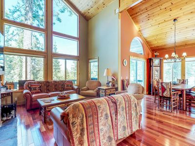 Photo for Spacious cabin with access to shared hot tub & pool near golf, tennis, & more!