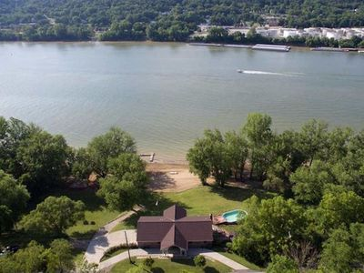 Photo for Breathtaking Home on the Banks of the Ohio River