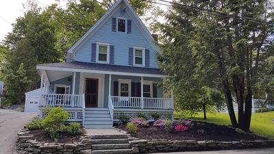 Photo for BLUE HOUSE ON BAY VIEW STREET.  GREAT LOCATION.  MODERN FARMHOUSE LIVING.