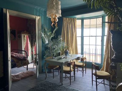 Photo for Couples hideaway in  romantic Regency opulent apartment facing the sea and pier.