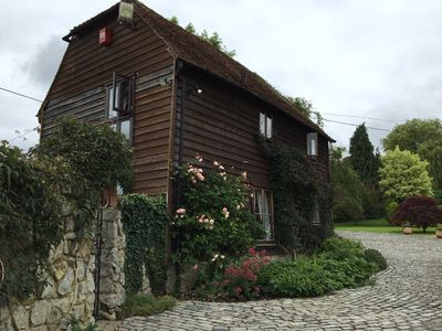 Photo for Cozy converted barn with tenniscourt
