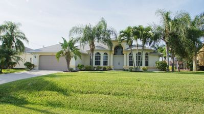 Photo for The Tuscany Villa with pool located on a canal in Cape Coral, Florida