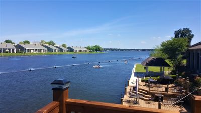 Water Funs Right at Your Deck; Inflatable Kayak, Boat, and Floats Are Available.