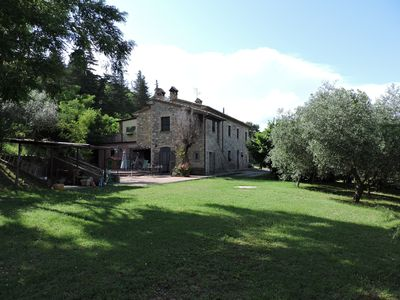 Photo for Apartment/ flat - Corciano Apartment in Farmhouse