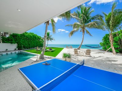 Photo for Stunning Gulf Front Home! Amazing Gulf Views! Private Man-Made Beach!
