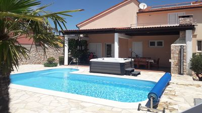 Photo for Family villa with private pool on Murter