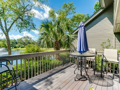 Photo for Comfortable vacation rental w/ furnished deck & shared pool