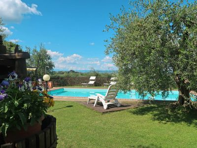 Photo for 3 bedroom Villa, sleeps 6 in Sorrezzana with Pool, Air Con and WiFi