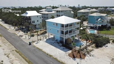 Photo for Gulf Views! Two homes side by side!  8 Bedrooms! 2 Private Pools, WiFi and more!