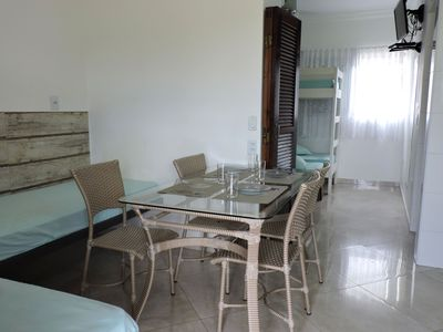 Photo for Excellent 1 bedroom apartment with air conditioning, Wi-fi and garage.