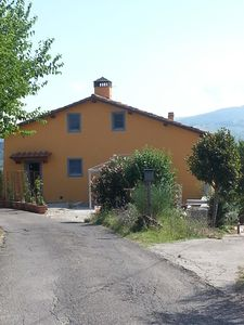 Photo for Apartment in colonica located in Tuscany among olive trees.