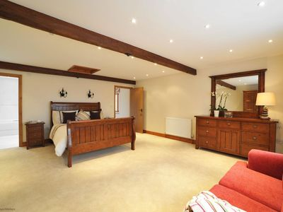 Photo for The Hay Shed -  5* Visit England - a  beautifully presented barn conversion in a lovely setting