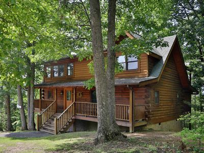 Photo for Beautiful Smoky Mtn Views! Pool Table, Hot Tub, Arcade Game. Free Access to Pool, Golf, Putt Putt...