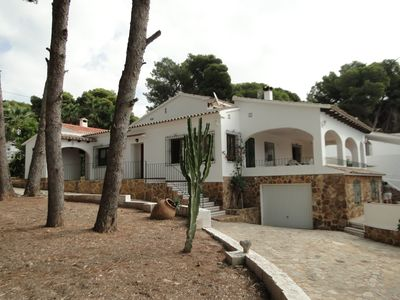 Photo for CASA PLATGETES PERFECT LOCATION SECOND BEACH LINE TO A WALK OF MORAIRA.