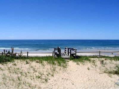 Photo for ocean front beach front 4 bed 3 bath private beach