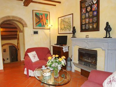 Photo for Vacation home L'Antica Chiesa in Gambassi Terme - 6 persons, 3 bedrooms