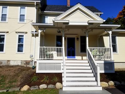 Photo for Summer Special! Large, Light-filled Victorian—Steps from Camden Village!