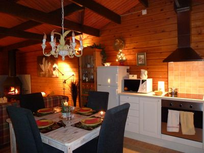 Photo for Magnificent house with a separate sauna, right on the edge of the forest, with WIFI