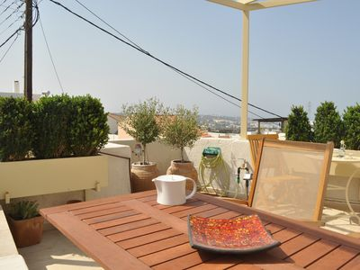 Photo for Maronica Guesthome, AC, wifi, sea-view terrace!